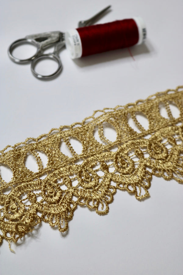 "Gold 2.75"" Wide Venice Trim"