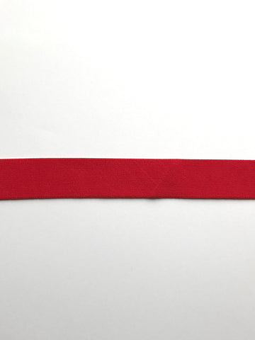 "Red 1.25"" Soft Brief Elastic"