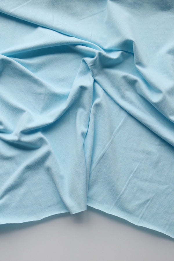 Light Blue Athletic Brushed Poly 265GSM