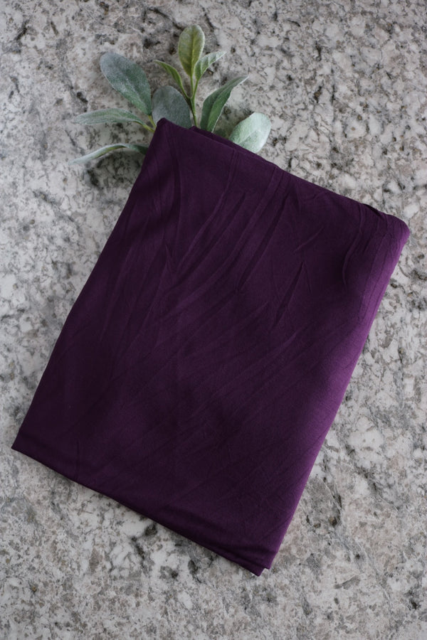 Dark Purple Modal Spandex
