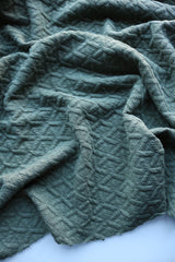 Backwoods Interwoven Squares Quilted Knit