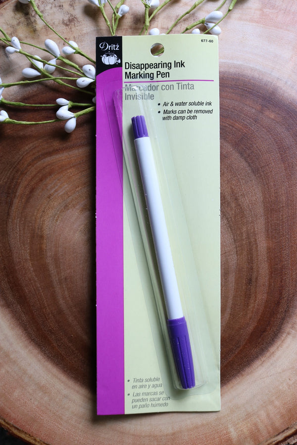 Dritz Disappearing Ink Pen