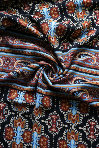 Printed Rayon Crepe Woven; Designer Ends