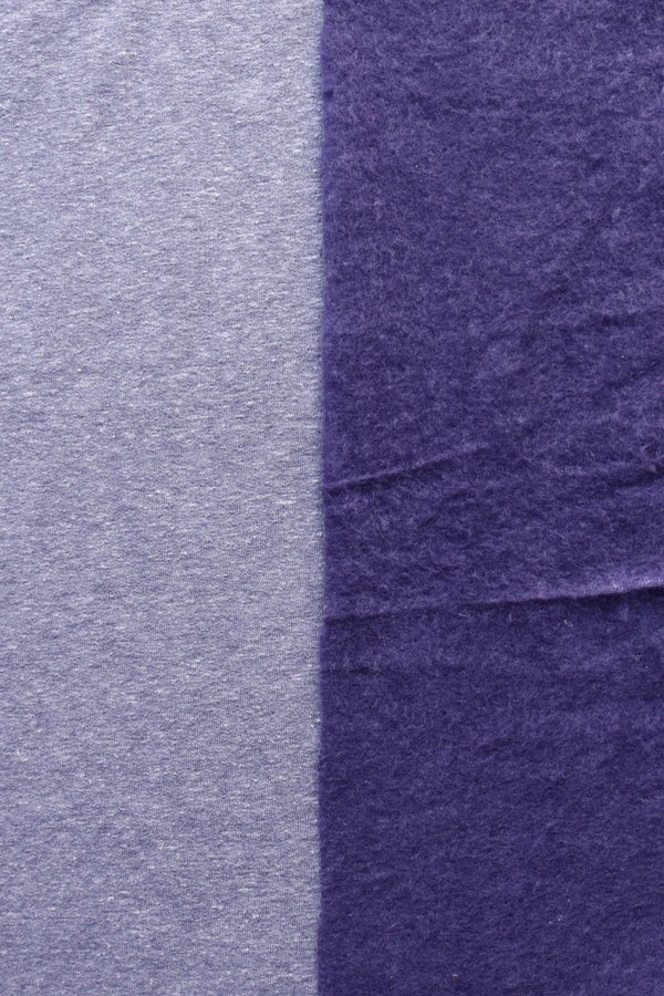 Indigo Tri-Blend Sweatshirt Fleece