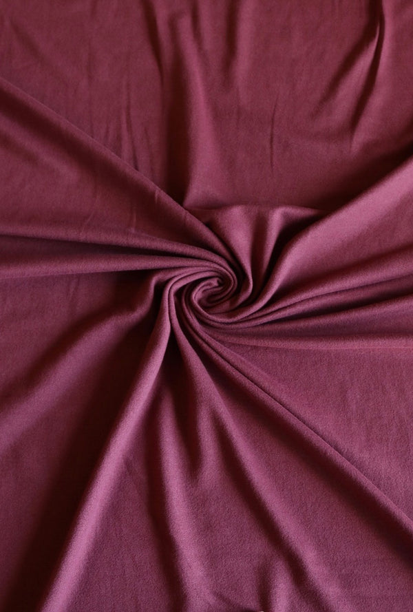 Marsala Double Brushed Poly