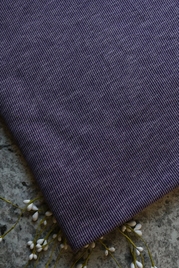 Plum Adventurer Ribbed Sweater Fleece