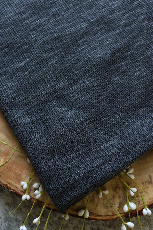 Chalkboard Impressionist Double Sweater Knit