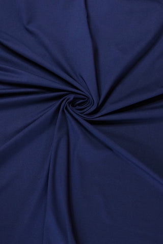 Navy Athletic Brushed Poly 280GSM