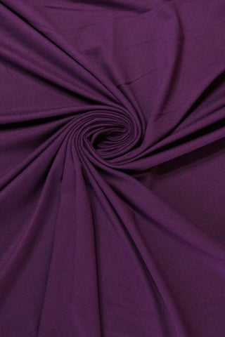 Plum Athletic Brushed Poly 280GSM