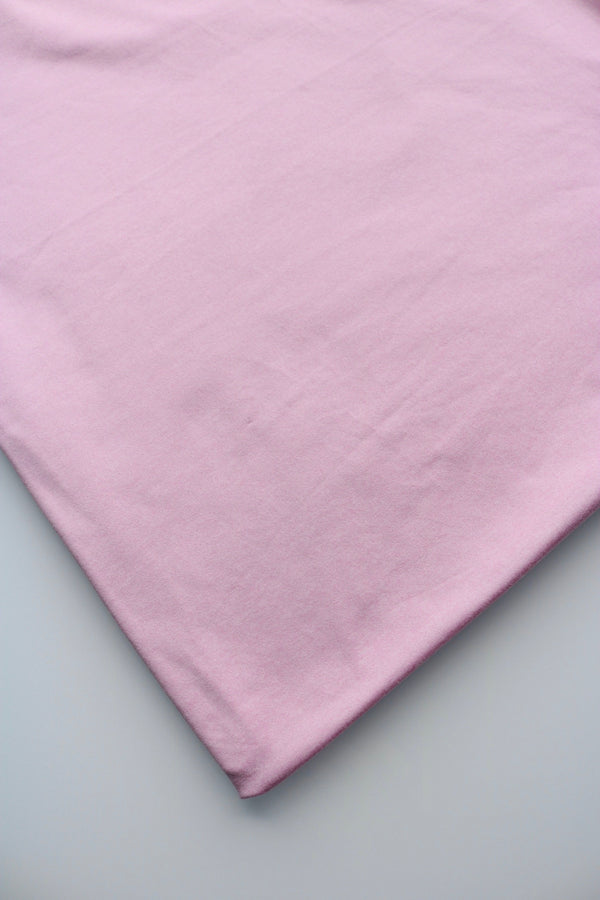 Light Pink Athletic Brushed Poly Jersey 125GSM