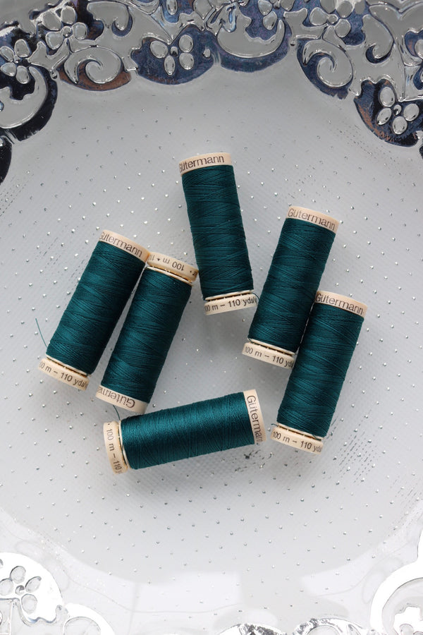 Peacock Gutermann Sew All Polyester Thread- 100M