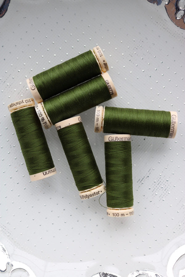 Olive Gutermann Sew All Polyester Thread- 100M