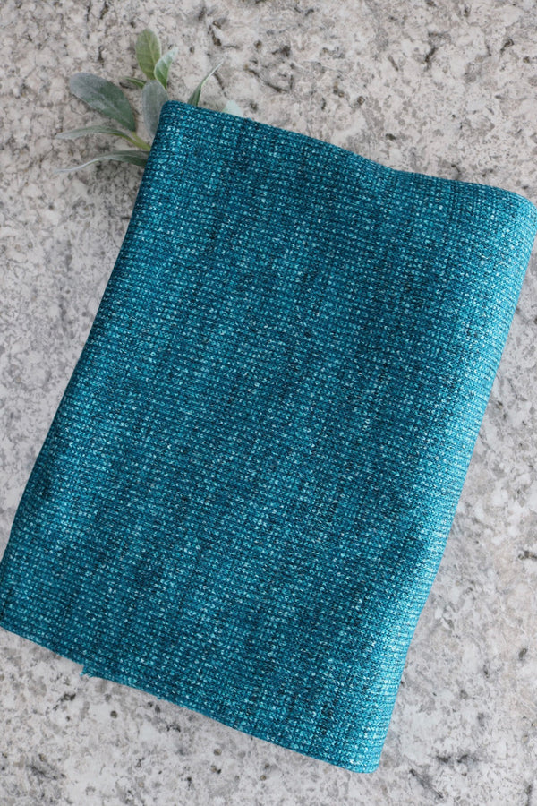 Turquoise Bristol Luxe Sweater Fleece