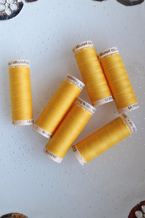 Saffron Gutermann Sew All Polyester Thread- 100M