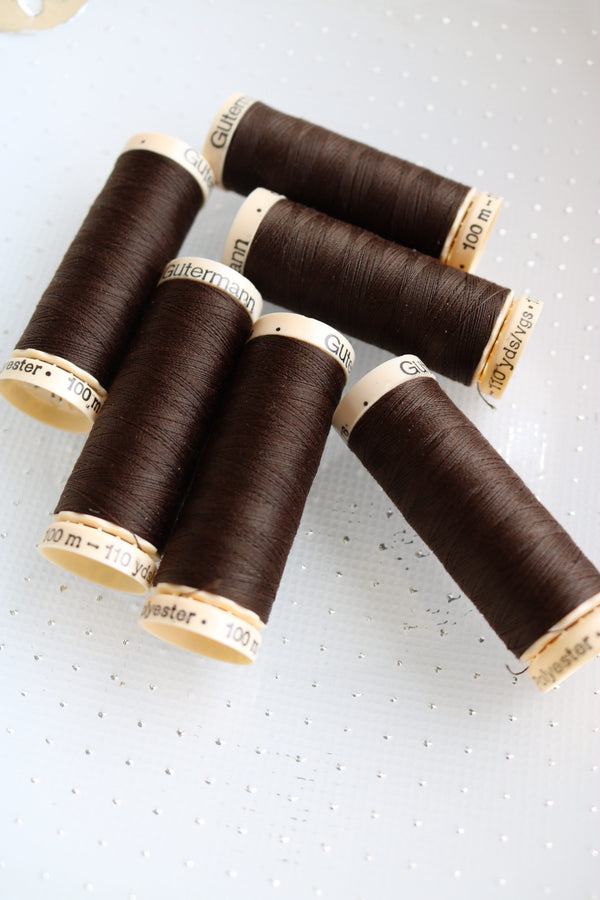 Coconut Gutermann Sew All Polyester Thread- 100M