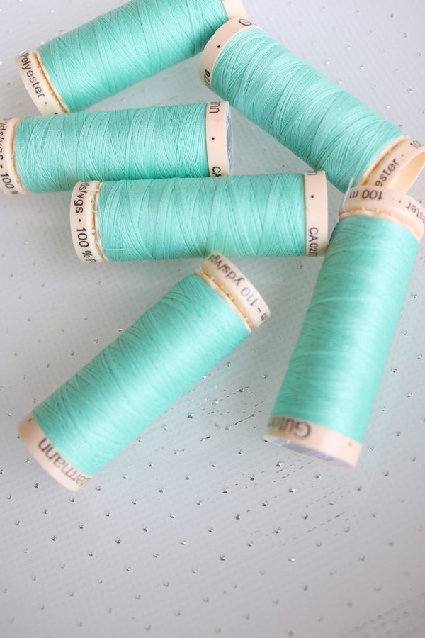 Clear Jade Gutermann Sew All Polyester Thread- 100M