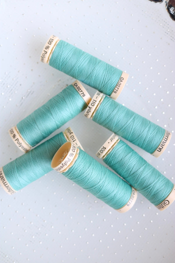 Robins Egg Gutermann Sew All Polyester Thread- 100M
