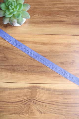 "Violet 13/16"" Twill Tape"