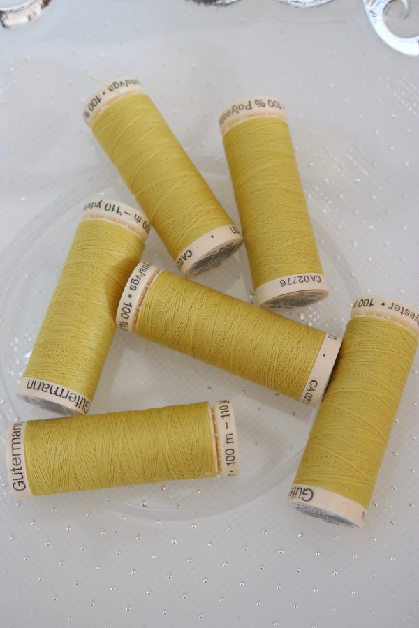 Buttercup Gutermann Sew All Polyester Thread- 100M