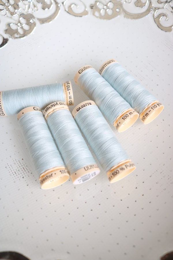 Silver Shine Gutermann Sew All Polyester Thread- 100M