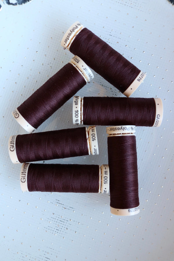 Chili Brown Gutermann Sew All Polyester Thread- 100M
