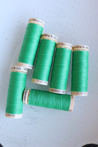 Jewel Green Gutermann Sew All Polyester Thread- 100M