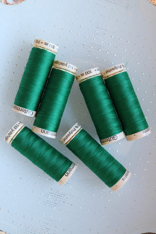 Grass Green Gutermann Sew All Polyester Thread- 100M
