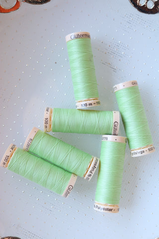 Light Green Gutermann Sew All Polyester Thread- 100M