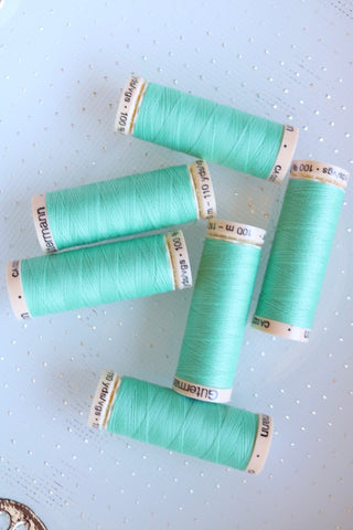 Aqua Gutermann Sew All Polyester Thread- 100M