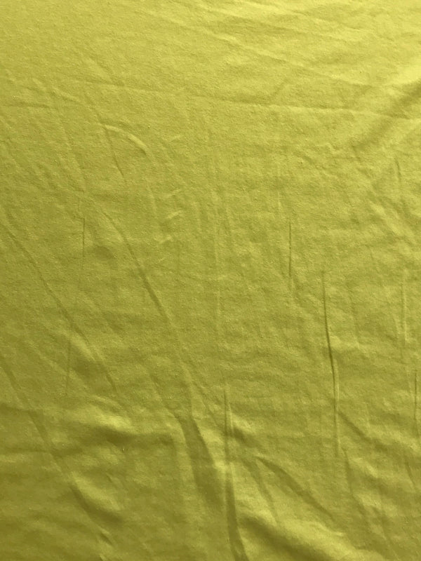 Yellow 10oz Cotton Lycra