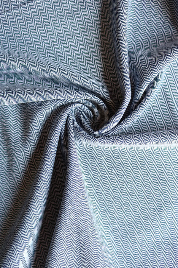 Robert Kaufman Herringbone Chambray Union
