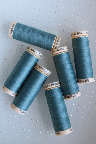 Medium Gray Gutermann Sew All Polyester Thread- 100M