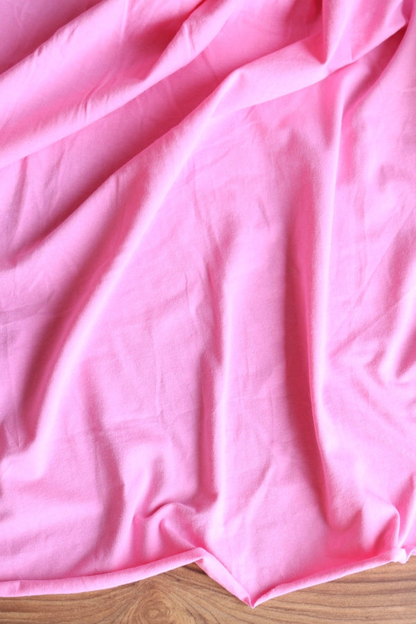 Light Pink 10oz Cotton Spandex Jersey