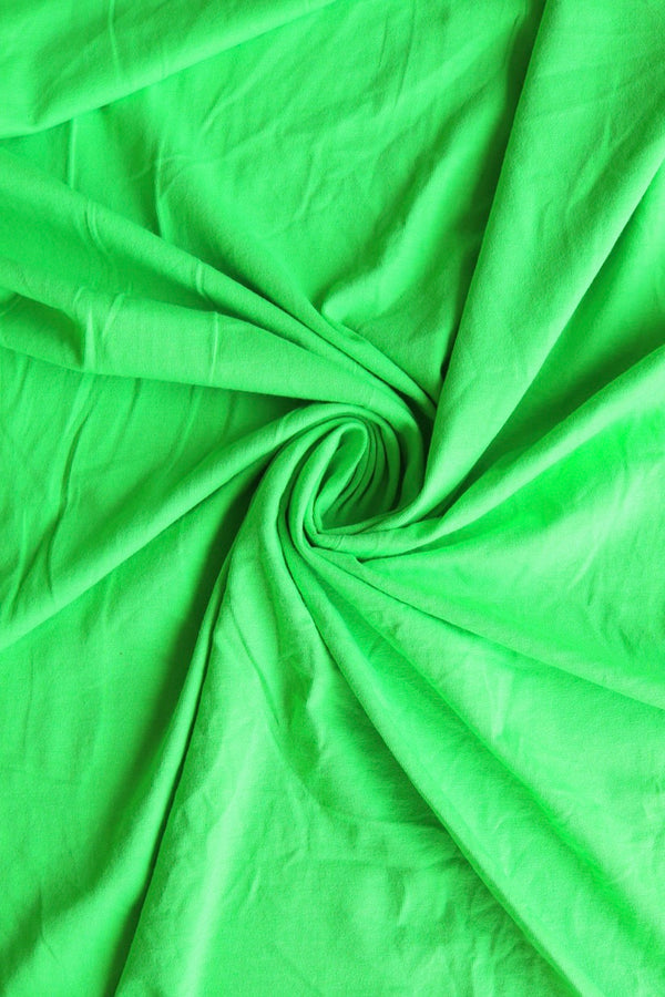 Lime 10oz Cotton Spandex Jersey