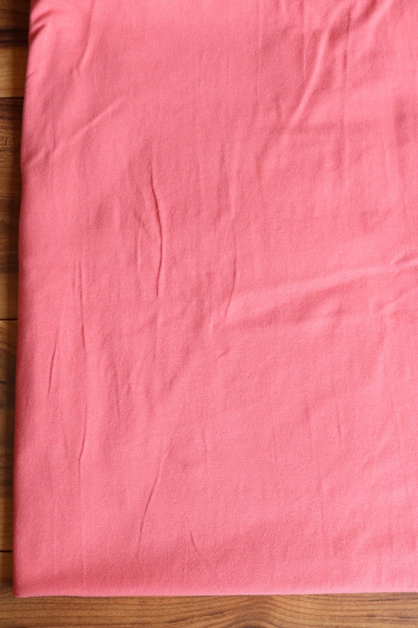 Dark Peach 10oz Cotton Spandex Jersey