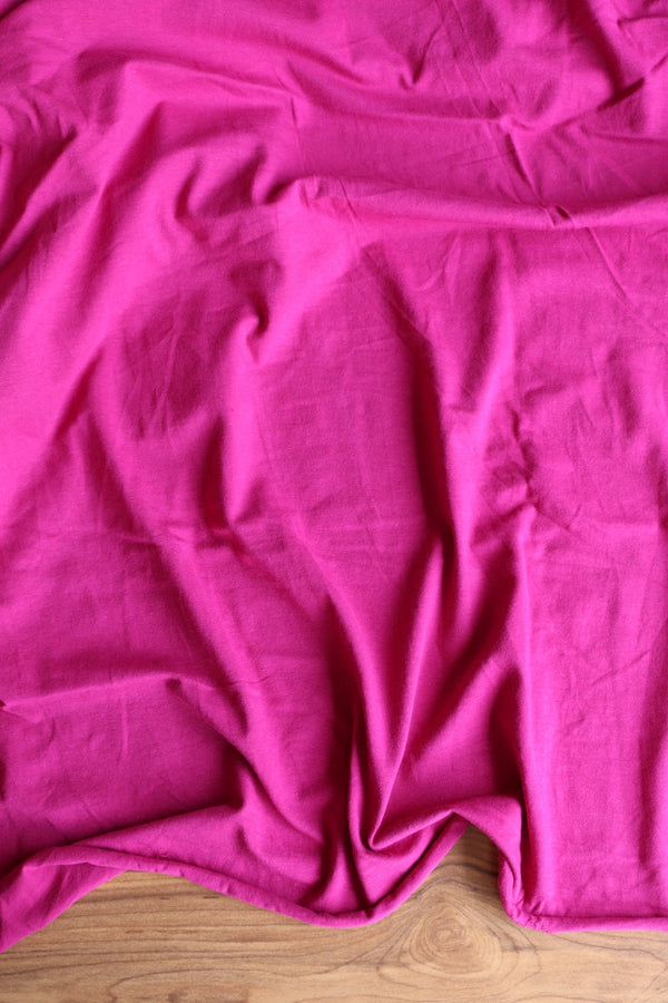 Magenta 10oz Cotton Spandex Jersey