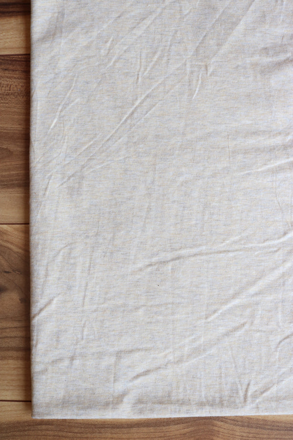 Oatmeal 10oz Cotton Spandex Jersey