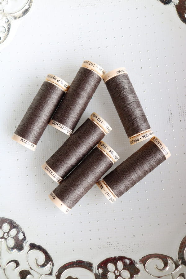 Dark Mocha Gutermann Sew All Polyester Thread- 100M