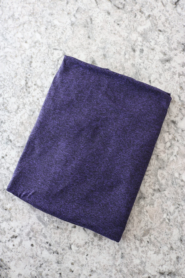 Violet Athletic Brushed Poly Jersey 125GSM