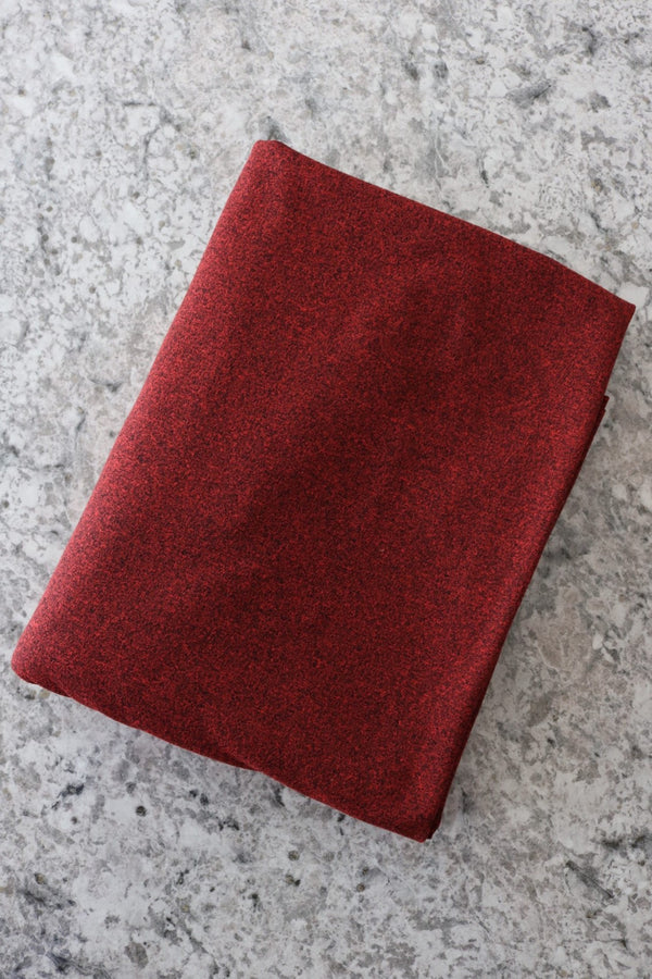 Rose Red Athletic Brushed Poly 265GSM