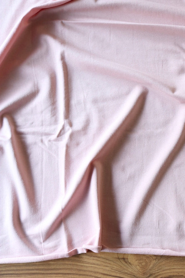 Dusty Pink Cotton Spandex French Terry