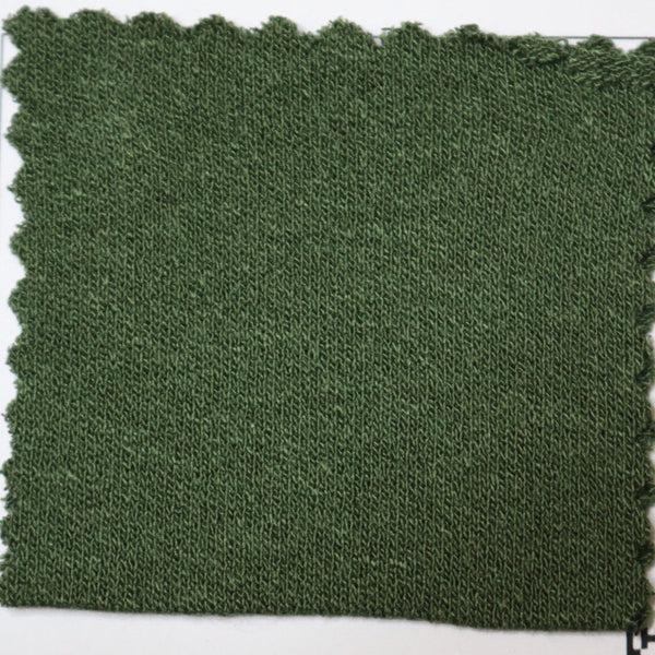 Cargo Green Viscose Crepe Jersey Knit