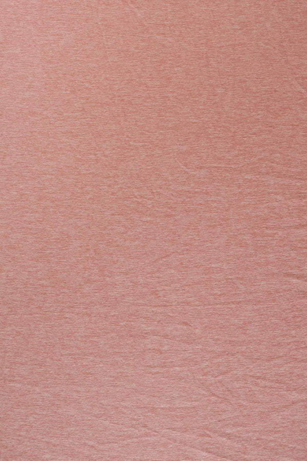 2 Tone Dusty Pink Double Brushed Poly