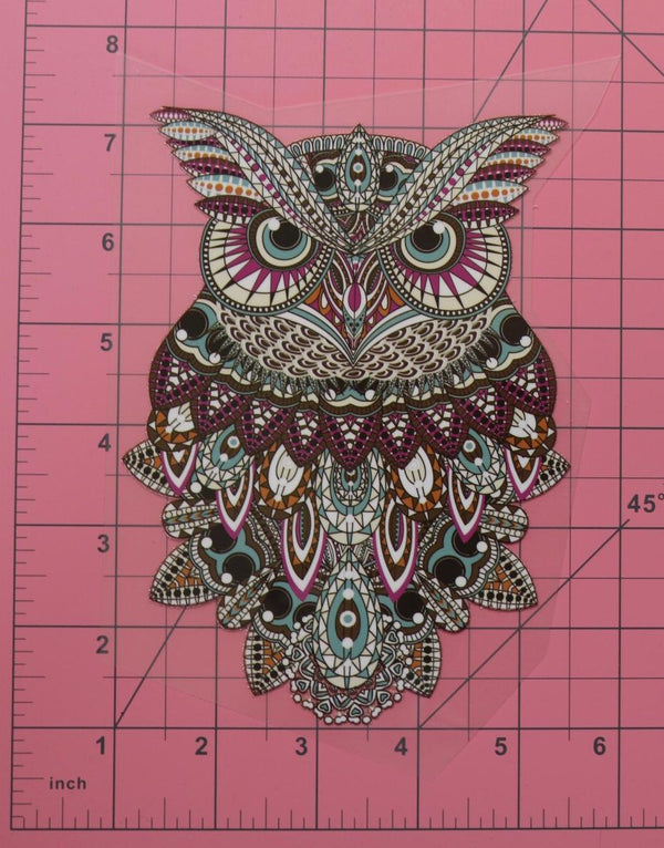 Night Owl Heat Transfer, Iron-On