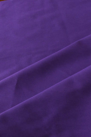 Purple Stretch Twill