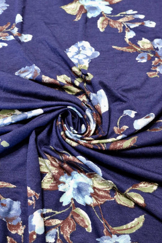Berkeley on Navy Rayon Spandex