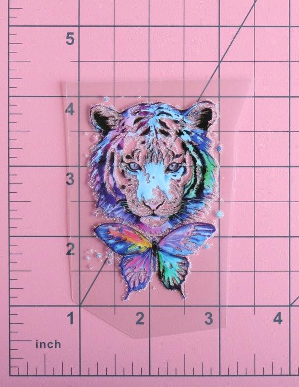 Small Tiger Love Heat Transfer, Iron-On