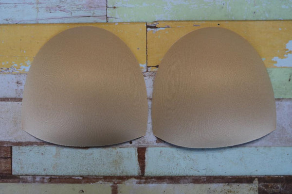 Beige Swim Cups, Sizes 2-26