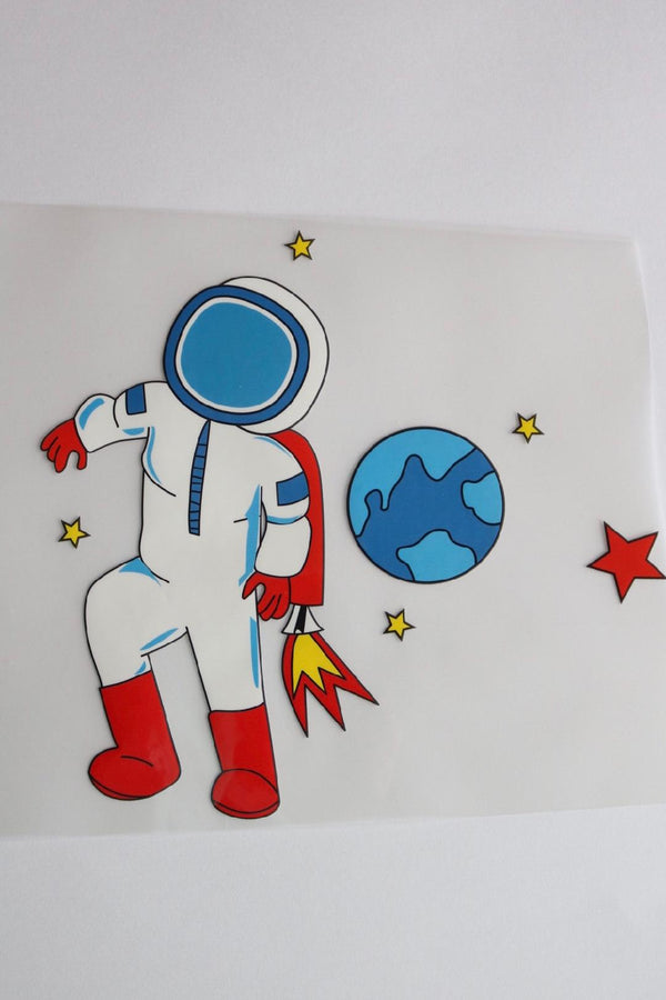 Astronaut Heat Transfer, Iron-On