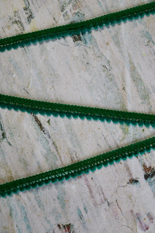 "Emerald 1/2"" Wide Pom-Pom Trim"